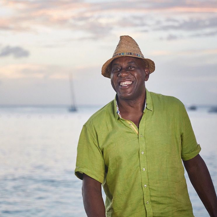 Claudio Lugli Ainsley Harriot Shirts Caribbean Kitchen